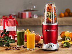 Červený super mixér Nutribullet, 600 W