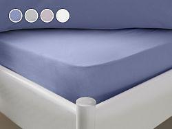 Posteľná plachta Dormeo Essenso V3, 90x200 cm, modrá