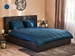 Posteľné obliečky Black Diamond Dormeo, 200x200 cm, D.BLUE