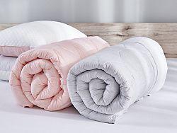 Prikrývka Sleep&Inspire Dormeo, 200x200 cm, sivá